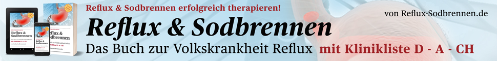 Reflux & Sodbrennen - Das Buch Leaderboard